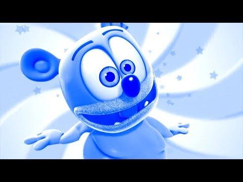 BLUE & WHITE Gummibär REEQUEST VIDOE French HD Nuki Nuki Gummy Bear SOng