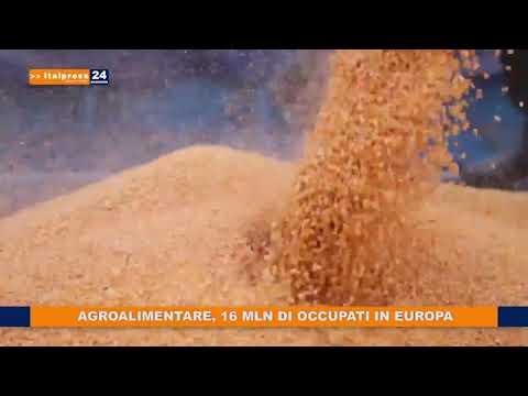 AGROALIMENTARE 16 MILIONI DI OCCUPATI IN EUROPA