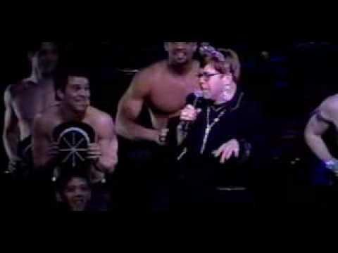 ELTON JOHN- Diamonds Are A Girl's Best Friend (Hilarious Video)