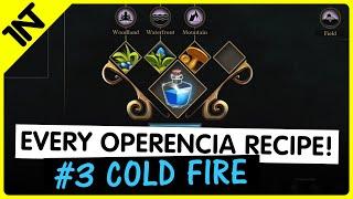 Operencia: The Stolen Sun Cold Fire Recipe #3