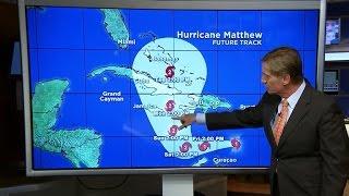 Hurricane Matthew gains strength in the Caribbean