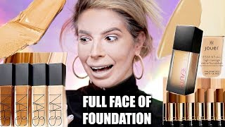 FULL FACE USING ONLY FOUNDATION | OMG.. - Video Youtube