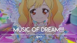 [FULL+LYRICS] Aikatsu Stars! - Yume-Laura-Ako-Mahiru - MUSIC Of DREAM!!!