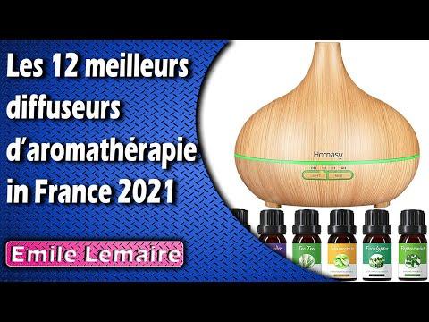 Les 12 meilleurs diffuseurs d'aromathérapie in France 2021