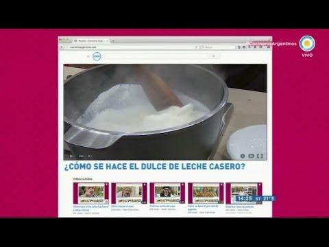 Cómo se hace el dulce de leche