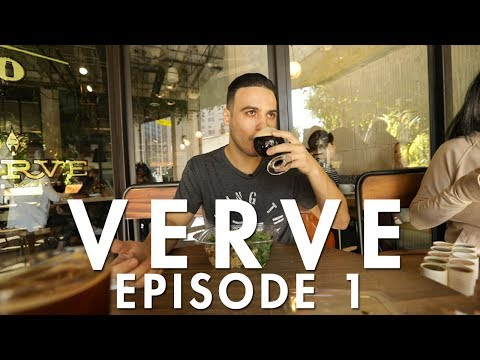 My First DTLA Coffee Vlog - Verve Coffee Roasters  | EP. 1 | Mihran Kirakosian