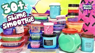 More Than 30 Jars of Slime Mixed In A Smoothie!  Doctor Squish