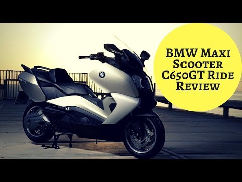 BMW Maxi Scooter C650GT Ride Review | Motorcycle-sport!