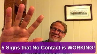 5 Signs That No Contact Is WORKING!
