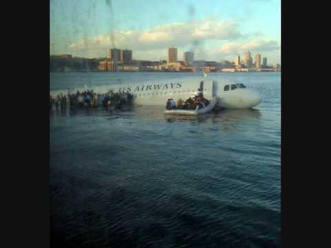 Rozmowa wieży kontrolnej z lotem 1549, który lądował na rzece Hudson