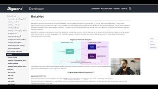 Algorand BetaNet Features in JavaScript