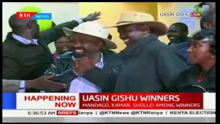 Jackson Mandago declared the victor in the Uasin Gishu Gubernatorial race