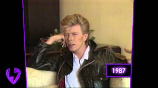 David Bowie: On Andy Warhol (Interview   1987)