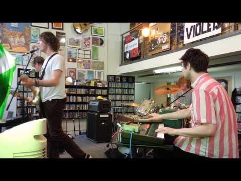"""Palma Violets Perfom """"Johnny Bagga' Donuts"""" Live at Fingerprints Records - Long Beach, CA - 4/21/13"""