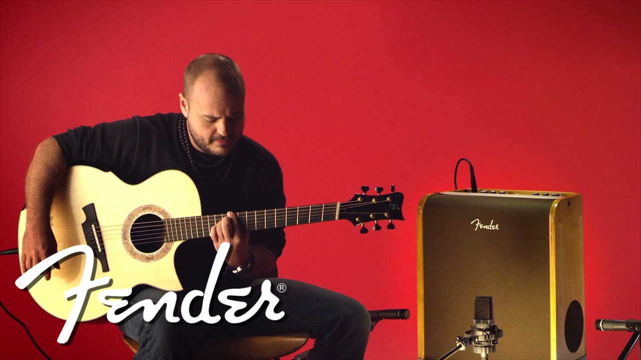 Fender Acoustic SFX Video