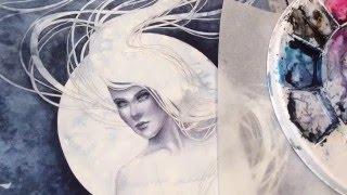 Watercolor Time-Lapse HD Version