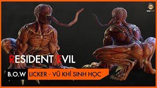 [Phân Tích] Resident Evil -  Vũ khí sinh học - Licker