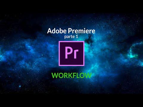 Flujo de trabajo en Premiere