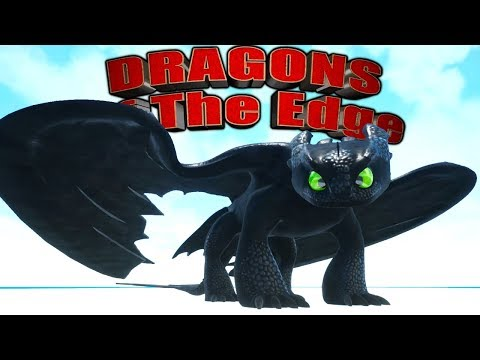 Wir spielen OHNEZAHN aus DRACHENZÄHMEN LEICHT GEMACHT - Dragons of the Edge   LP Deutsch