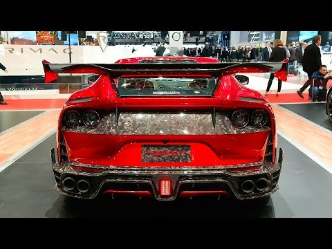 The Weird & Wonderful Cars At The 2018 Geneva Motorshow