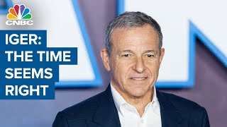 Disney's former CEO Bob Iger: I want to spend more time on creative