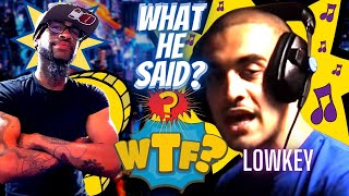 Lowkey - Fire in the Booth Part 1 (REACTION)