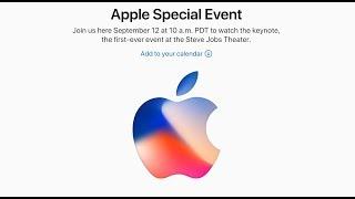 Apple Special Event Keynote 12 Septiembre 2017 Retransmisión en Directo (En Español)