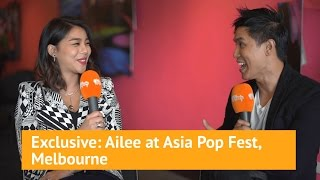 Ailee Exclusive interview at Asia Pop Fest, Melbourne