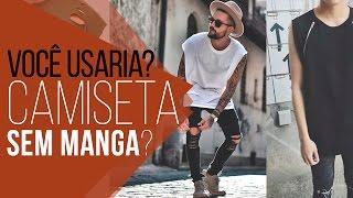 Camiseta OVERSIZED SEM MANGA - #VocêUsaria?