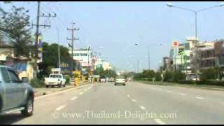 preview picture of video 'A drive through Phetchabun Town, Phetchabun Province, Thailand ( 4 )'