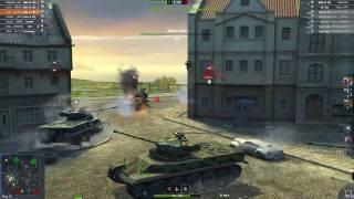Три AMX 50 100   ололо раш по центру самая быстрая победа