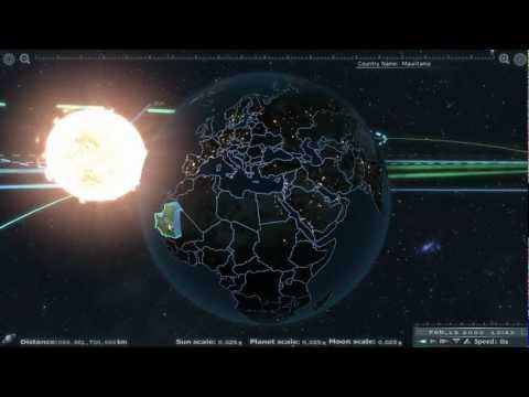 Game Developer Recreates The Solar System While Looking For Work