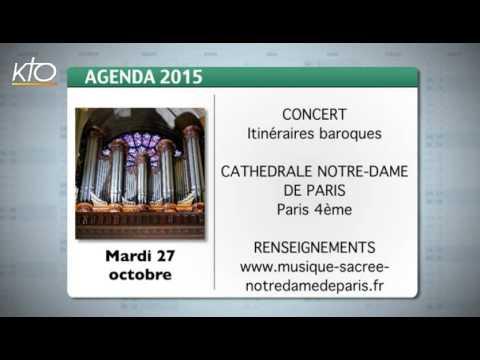 Agenda du 23 octobre 2015