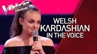 Welsh KIM KARDASHIAN surprises coaches in The Voice Kids   STORIES #35