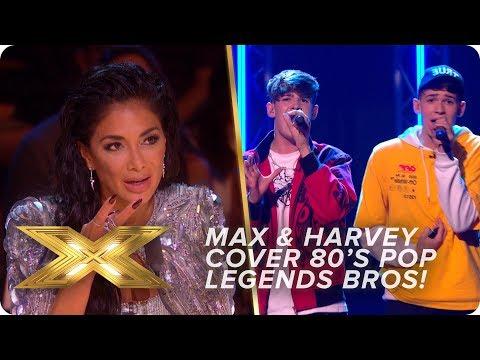 Twin doubles? Max & Harvey cover 80s pop legends Bros | Live Week 1 | X Factor: Celebrity