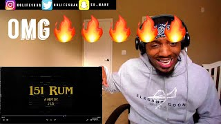 Barology Class Was Hard Today Lol! | J.I.D   151 Rum REACTION