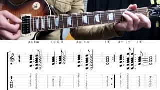 Não tás a ver, Jimmy P, Lição, Tutorial, Guitarra, Como tocar, Acordes