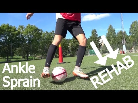 Video Sprained Ankle Treatment Fast