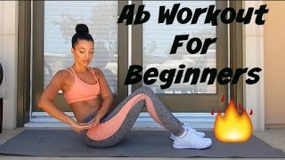 Ab Workout For Beginners by BODiBiDAY Fitness