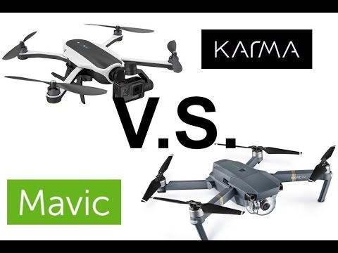 DJI Mavic VS GoPro Karma: COMPACT, COMPREHENSIVE DRONE OVERVIEW/REVIEW- What do I get?!