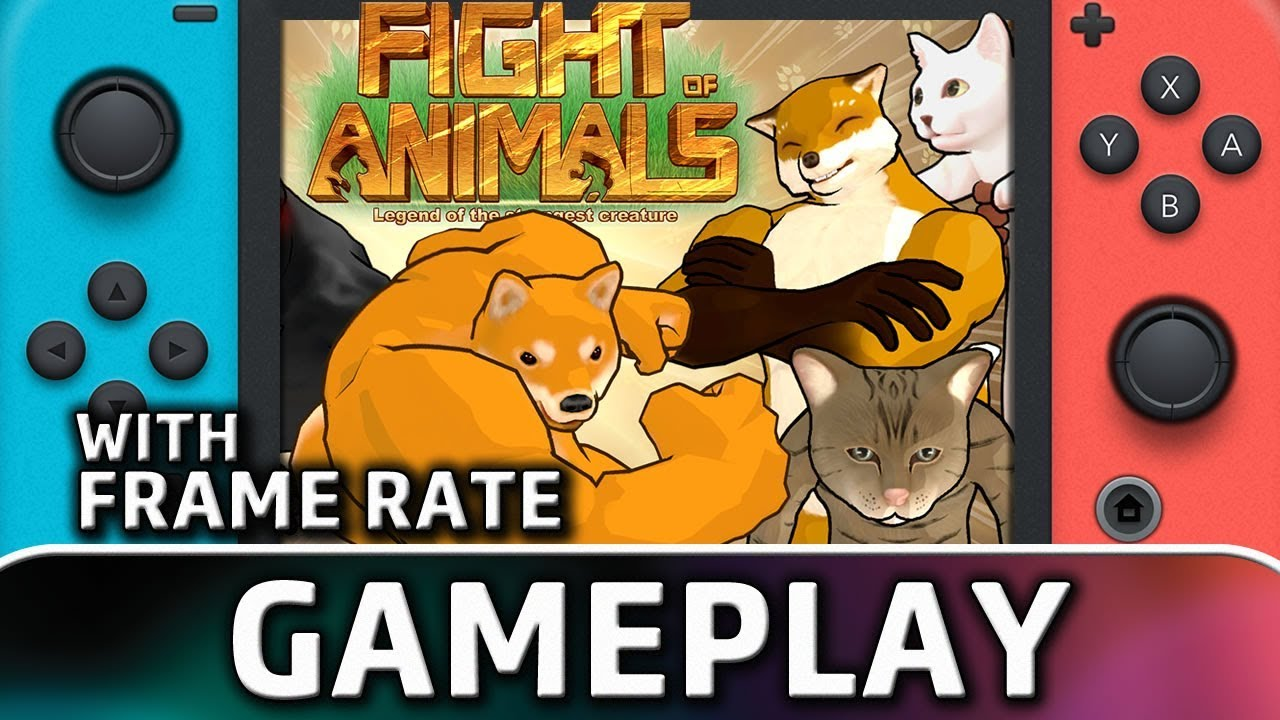 Fight of Animals | First 5 Minutes With Frame Rate on  Nintendo Switch
