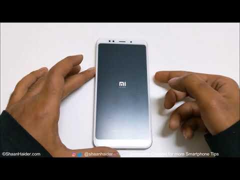 FORGOT PASSWORD - How to Unlock and Hard Reset Xiaomi Redmi 5 and Redmi 5 Plus