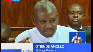 Moses Wetangula amebanduliwa kutoka nafasi ya kiongozi wa waliowachache katika bunge la Seneti