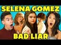 TEENS REACT TO SELENA GOMEZ - BAD LIAR
