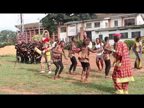 Igbo Dance: Obimo Ikorodo with Masquerade