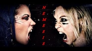 ARCH ENEMY - Nemesis (Alissa and Angela) Live