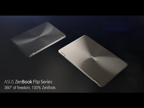 """ASUS ZenBook Flip UX360UAK-DQ207T (13.30"""", QHD+, Intel Core i5-7200U, 8GB, 256GB)"""