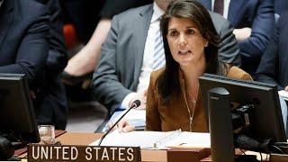 US and Russia trade barbs at UN over Syria chemical attack - Video Youtube
