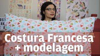 Como Fazer Uma Fronha Ou Capa De Almofada Com Acabamento Perfeito + Modelagem | Costura Francesa