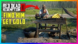If You Find This Prospector In Red Dead Redemption 2 You'll Get FREE Gold & Much MORE! (RDR2)